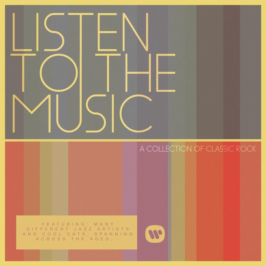Listen To The Music - Collection Of Classic Rock CD - CDESP 456