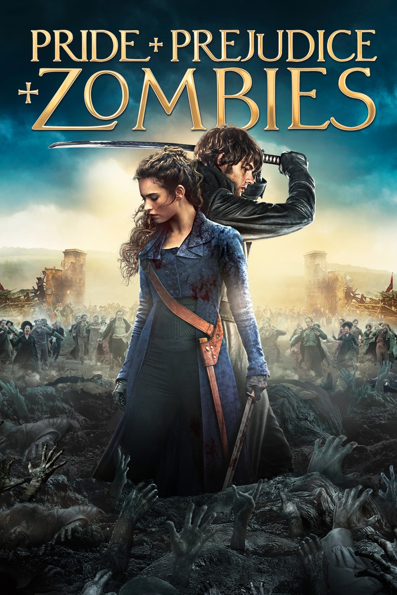 Pride and Prejudice and Zombies DVD - 04172 DVDI
