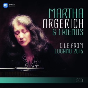 Martha Argerich - Martha Argerich and Friends Live from the Lugano Festival 2015 CD - 2564628549