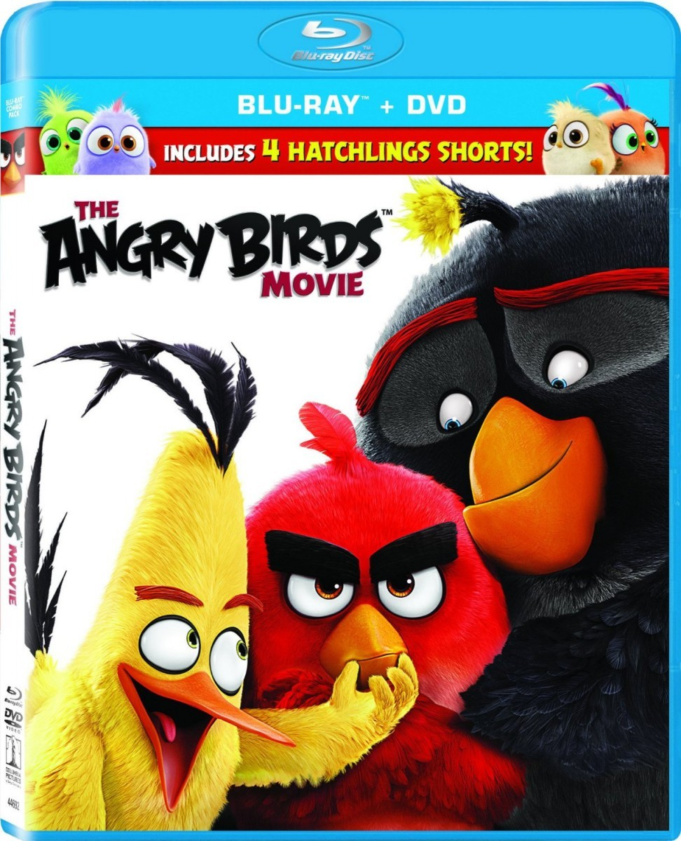 The Angry Birds Movie Blu-Ray - 10226712