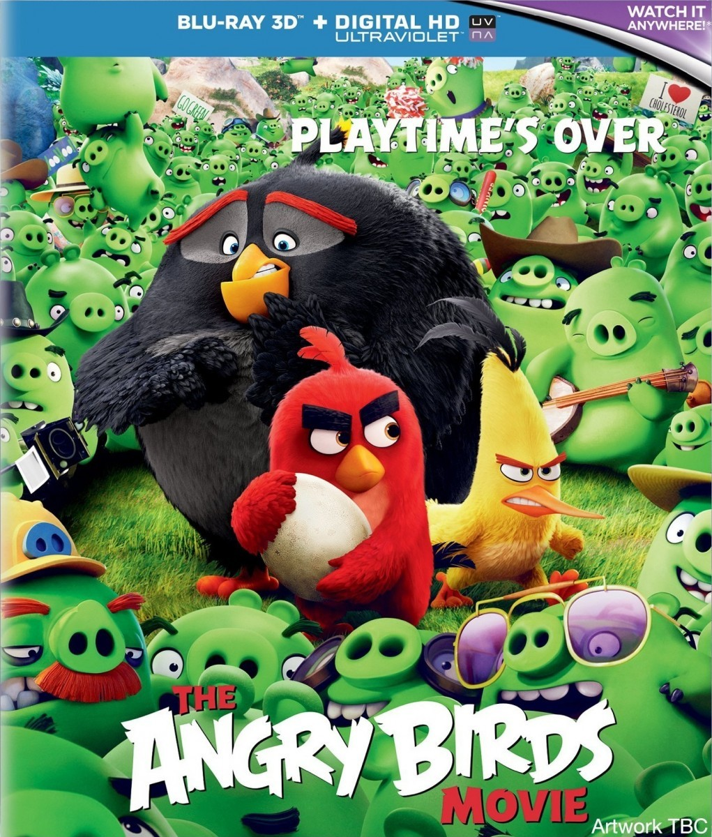 The Angry Birds Movie 3D Blu-Ray+Blu-Ray - 10226713