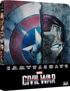 Captain America: Civil War (Steelbook) 3D Blu-Ray+Blu-Ray - 10226733