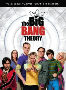 The Big Bang Theory: Season 9 DVD - Y34309 DVDW