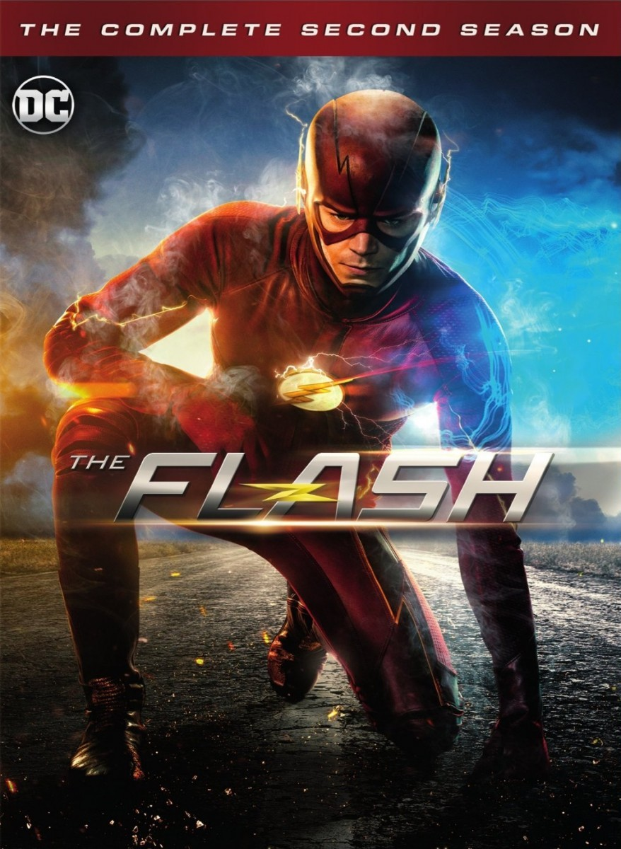 The Flash: Season 2 DVD - Y34310 DVDW