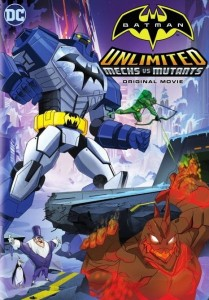 Batman Unlimited: Mech vs. Mutants DVD - Y34312 DVDW