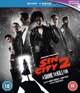 Sin City: A Dame to Kill For Blu-Ray - BROBR 001