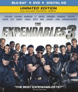 The Expendables 3 Blu-Ray - NIBR 005