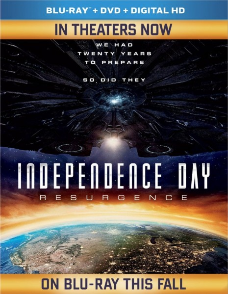 Independence Day: Resurgence Blu-Ray - BDF 64749