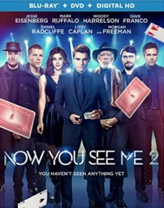 Now You See Me 2 Blu-Ray - BDI 04186
