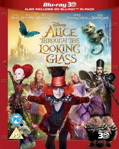 Alice Through the Looking Glass Blu-Ray+3D Blu-Ray - 10226886