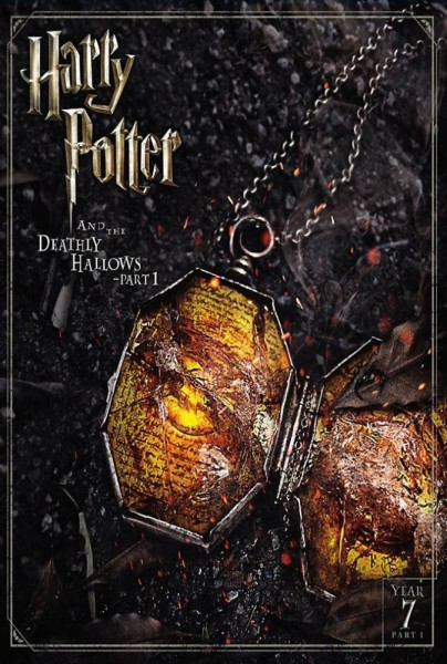 Harry Potter and the Deathly Hallows: Part 1 DVD - Y34403 DVDW