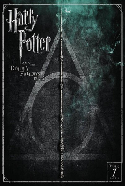 Harry Potter and the Deathly Hallows: Part 2 DVD - Y34404 DVDW