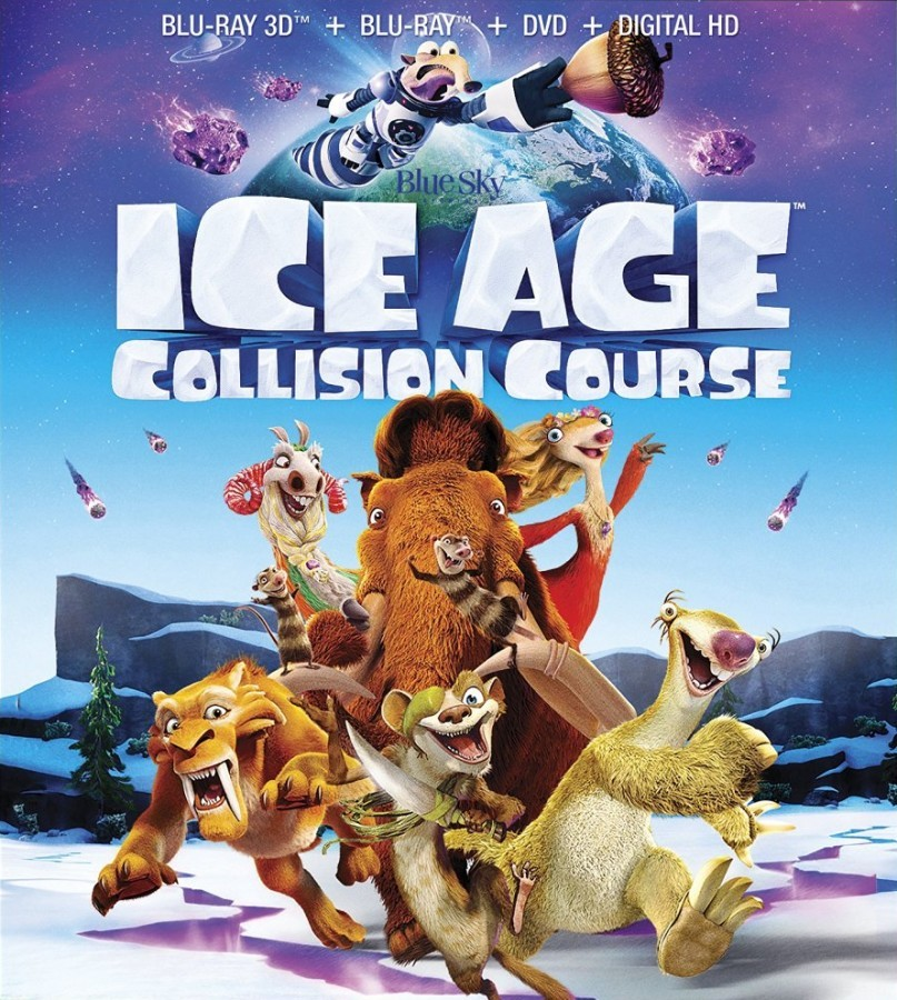 Ice Age: Collision Course 3D Blu-Ray - 3D BDF 63901