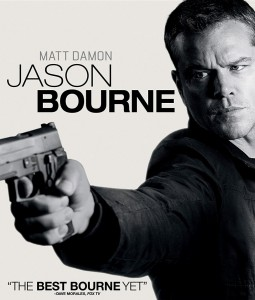Jason Bourne (Steelbook) Blu-Ray - BU 442492SB