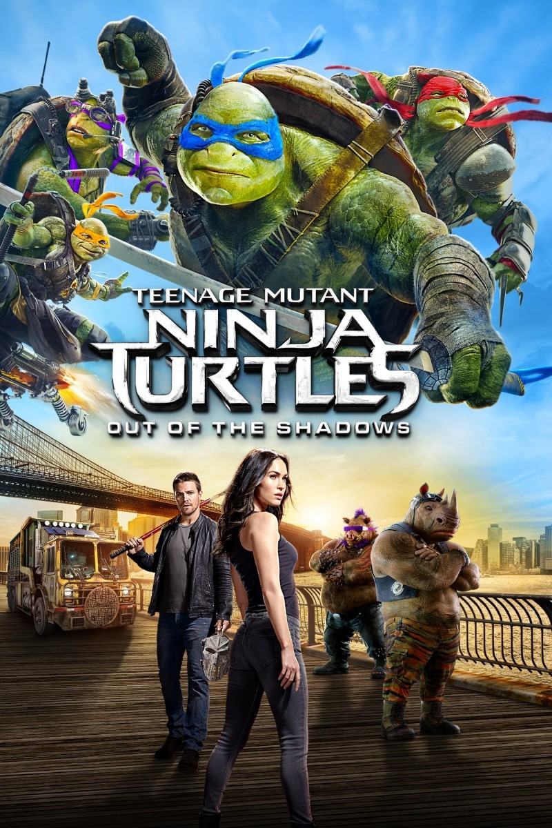 Teenage Mutant Ninja Turtles Out Of The Shadows Dvd