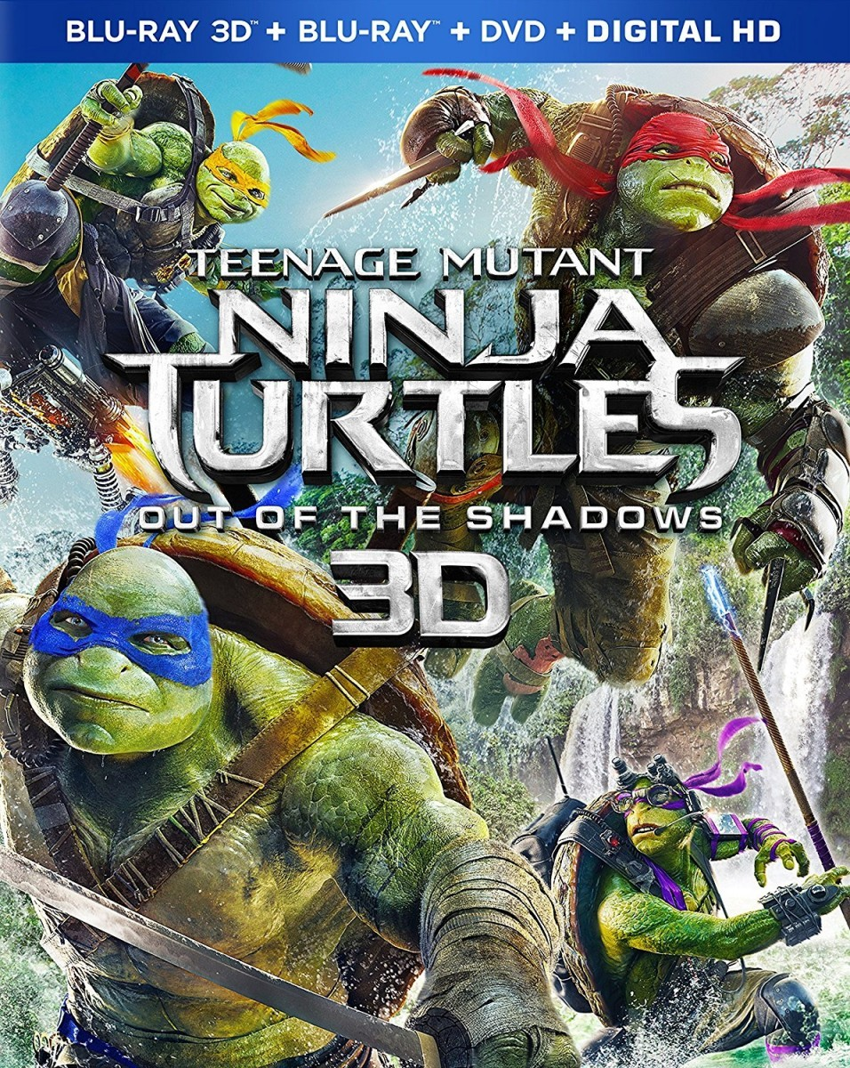 Teenage Mutant Ninja Turtles: Out of the Shadows 3D Blu-Ray - WLBD142388 BDP