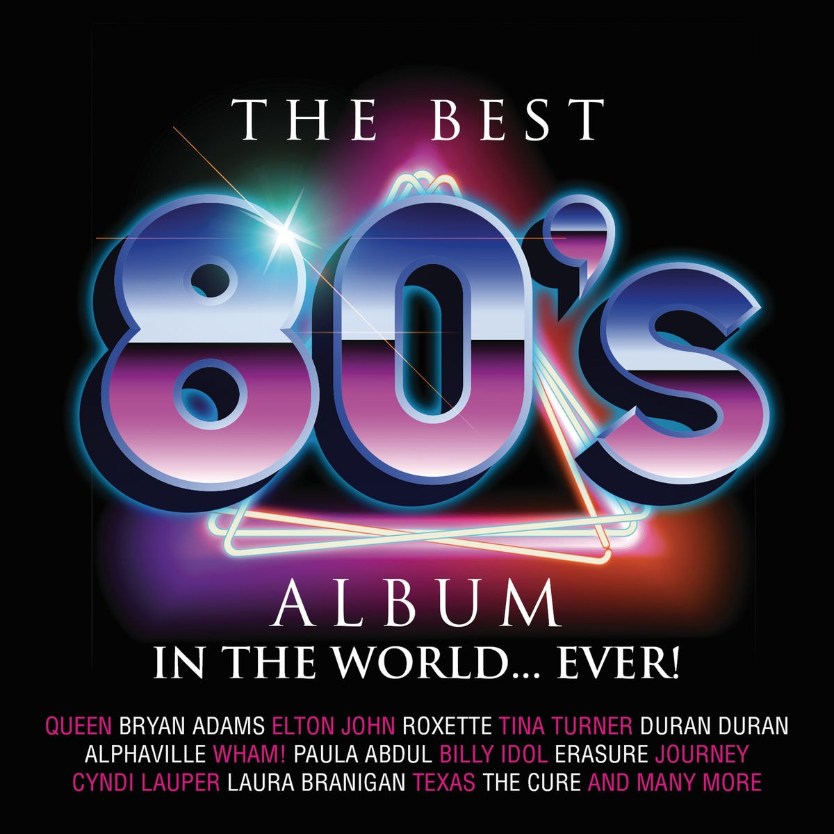 The Best 80's Album In The World...Ever CD - DARCD 3162