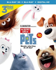 The Secret Life of Pets 3D Blu-Ray - 3D BDU 73905