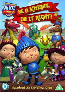 Mike the Knight: Be a Knight, Do It Right! DVD - SHTD-247