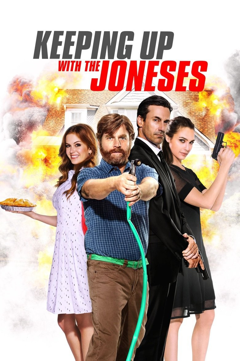 Keeping Up with the Joneses DVD - 64748 DVDF
