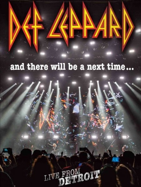 Def Leppard - And There Will Be A Next Time - Live From Detroit DVD - 50345 0412707