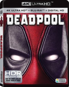 Deadpool 4K UHD+Blu-Ray - 4K BDF 64009
