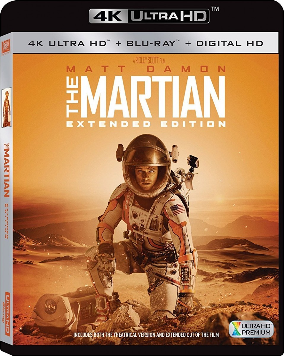 The Martian 4K UHD+Blu-Ray - 4K BDF 64560