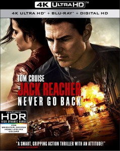 Jack Reacher: Never Go Back 4K UHD+Blu-Ray - WS147044 UVP