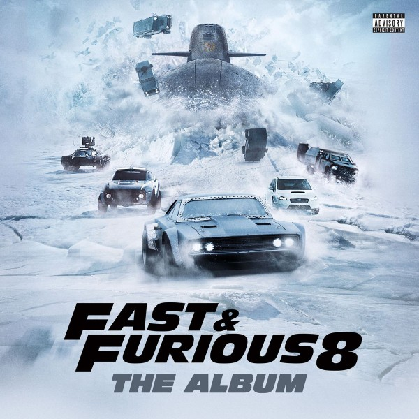 The Fast And The Furious: Fast & Furious 8: The Album CD - ATCD 10432