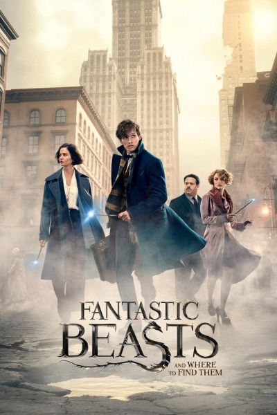 Fantastic Beasts and Where to Find Them DVD - Y34558 DVDW