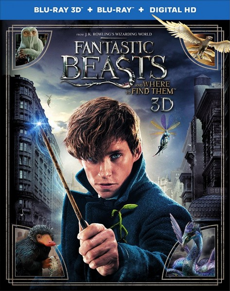 Fantastic Beasts and Where to Find Them 3D Blu-Ray+Blu-Ray - Y34561 BDW