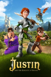 Justin and the Knights of Valour DVD+Blu-Ray - 90511 BDI