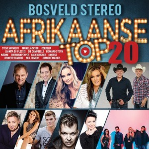 Bosveld Stereo Afrikaanse Top 20 CD - CAMP 003 - 1