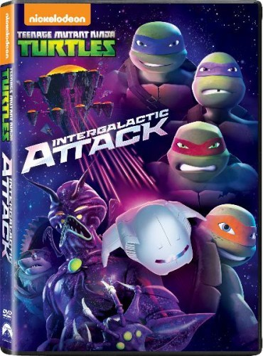 Teenage Mutant Ninja Turtles: Intergalactic Attack DVD - UK146464 DVDP