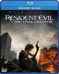 Resident Evil: The Final Chapter 3D Blu-Ray+Blu-Ray - 10227474