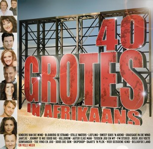 40 Grotes in Afrikaans CD - CDJUKE 175