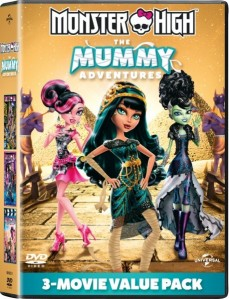 Monster High: The Mummy Adventures DVD - 105740 DVDU