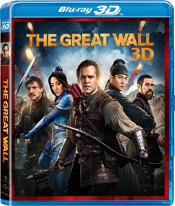 The Great Wall 3D Blu-Ray - 3D BDU 578691