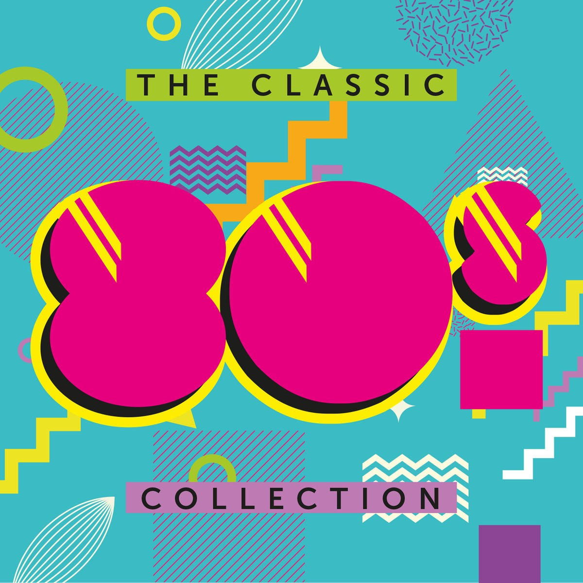 The Classic 80's Collection CD - CDBSP3374