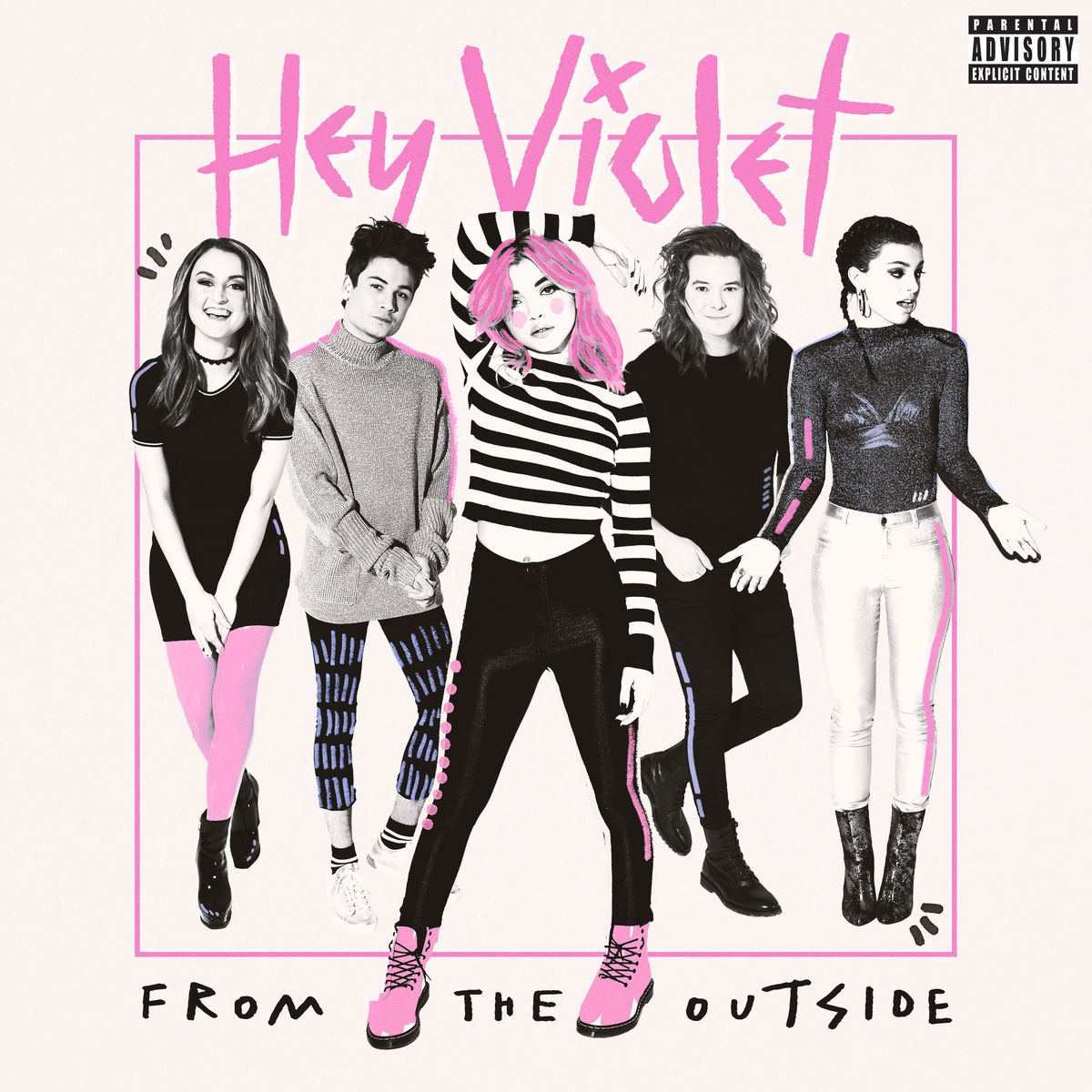 Hey Violet - From The Outside CD - 06025 5757092