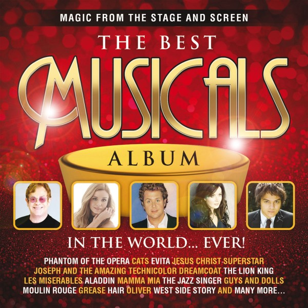 The Best Musicals Album In The World... Ever! CD - DARCD 3166