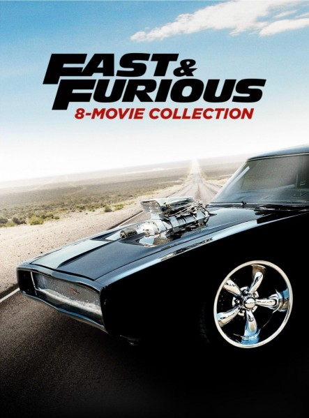 The Fast And The Furious 8 Movie Collection DVD - 105065 DVDU