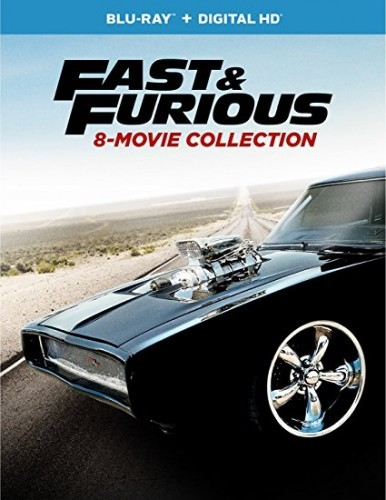 The Fast And The Furious 8 Movie Collection Blu-Ray - BDU 105065
