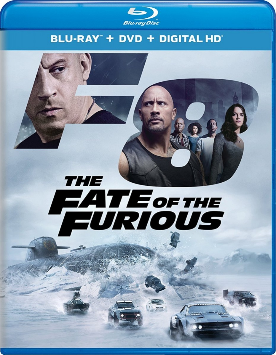 The Fast And The Furious: 8: The Fate of the Furious Blu-Ray - BDU 592557