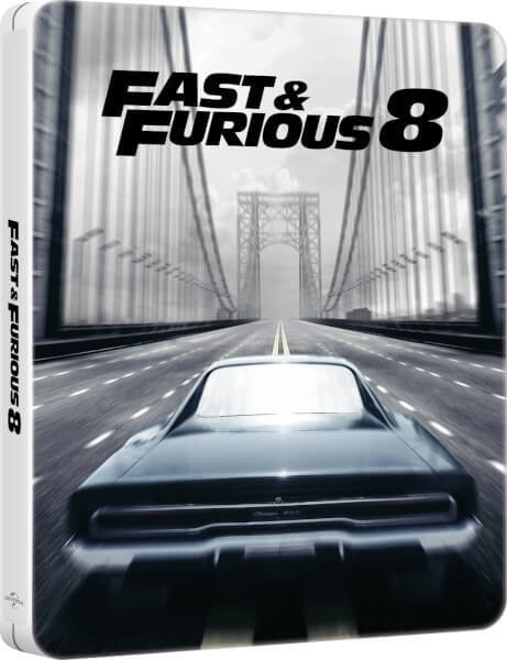 The Fast And The Furious: 8: The Fate of the Furious (Steelbook) Blu-Ray - BDU 592557SB