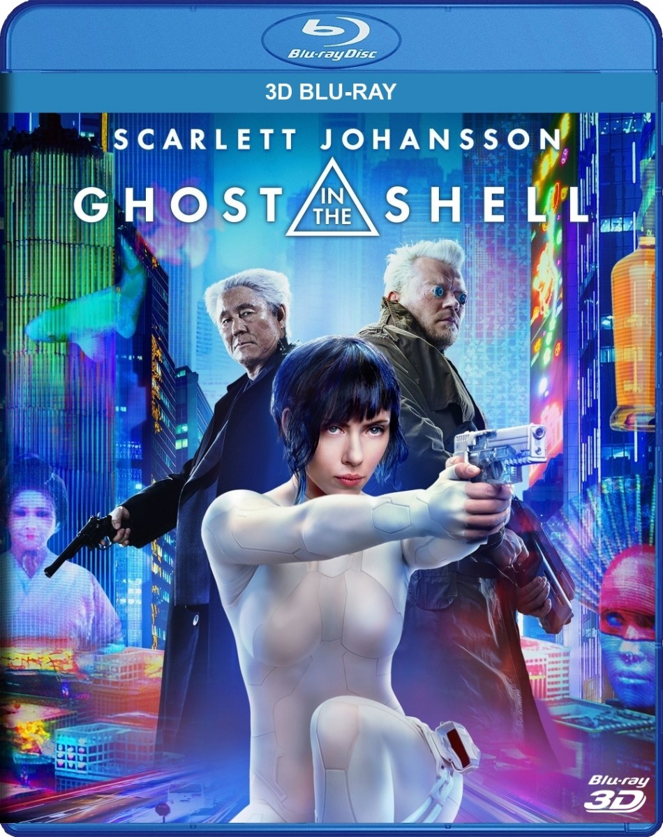 Ghost in the Shell 3D Blu-Ray - SL146424 BDP