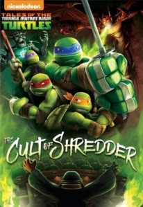 Teenage Mutant Ninja Turtles - Cult of Shredder DVD - UK146217 DVDP