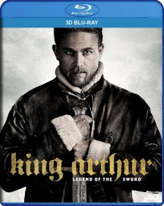 King Arthur: Legend of the Sword 3D Blu-Ray - Y34712 BDW