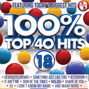 100% Top 40 Hits 18 CD - CSRCD409