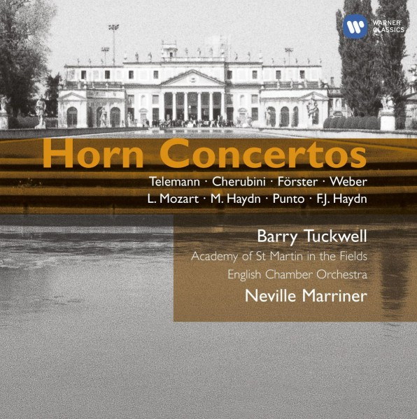 Barry Tuckwell - Baroque & Classical Horn Concertos CD - 07243 5865582
